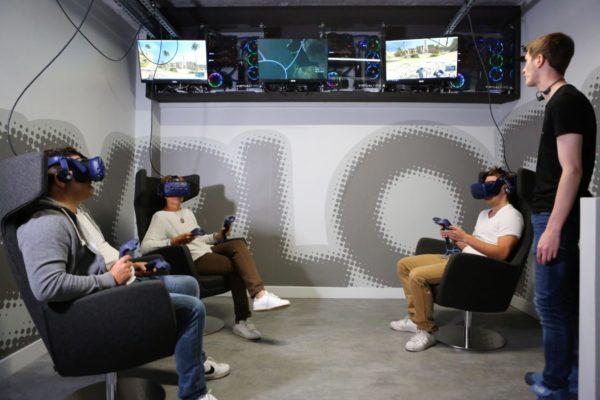 Réalité Virtuelle en équipe - Paris XI