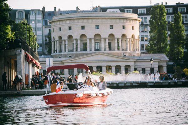 Escapade au fil des canaux Parisiens