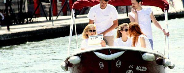 Chasse au Trésor sur les eaux Parisiennes