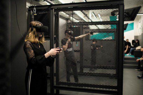 Réalité Virtuelle en équipe - Paris Centre