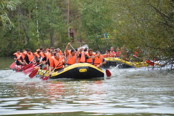 Raid en Rafting !
