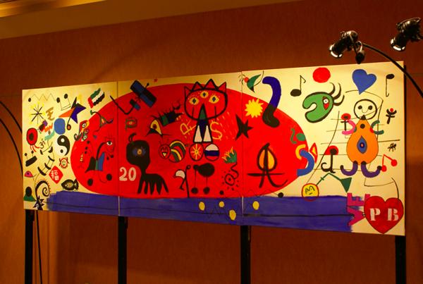 Création d'une Fresque géante