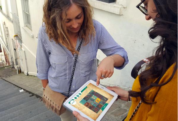 Rallye iPad dans Le Marais