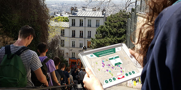 Rallye iPad à Montmartre