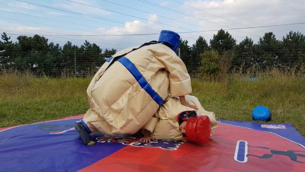 Combats de Sumo gonflable
