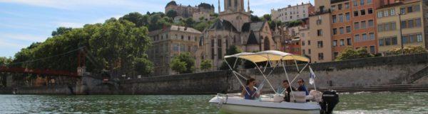 Chasse au trésor nautique sur la Saône